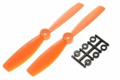 HQ Propeller Bullnose Glasfaser verstärkt orange 6x4,5 2 Stück cw