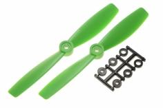 HQ Propeller Bullnose Glasfaser verstärkt grün 6x4,5 2 Stück ccw