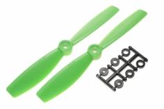 HQ Propeller Bullnose Glasfaser verstärkt grün 6x4,5 2 Stück cw