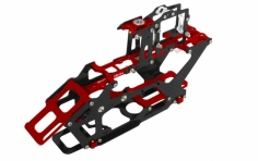 Rakonheli Hauptrahmen aus Carbon in rot für Blade 230S