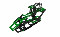 Rakonheli Hauptrahmen aus Carbon in grün für Blade 230S