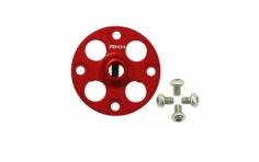 Rakonheli Alu Nabe für Hauptzahnrad in rot für Blade 230S