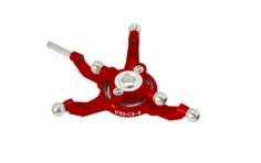 Rakonheli Taumelscheibe Alu in rot für Blade 230S und 250CFX
