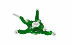 Rakonheli Taumelscheibe Alu in grün für Blade 230S und 250CFX