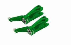 Rakonheli Hauptblatthalter Set CNC Aluminium grün für Blade 230S und 250CFX