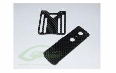 Halterung für Elektronik aus carbon für den Goblin 570