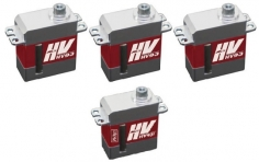 MKS Servo SET 3x HV93 und 1x HV93i - HV Digital Servo