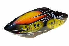 Fusuno Skull Airbrush fiberglas Haube für T-REX 600E Pro