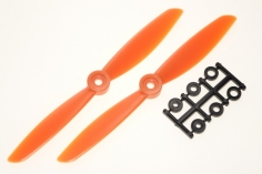 HQ Propeller Direct Drive Glasfaser verstärkt orange 6x4,5 2 Stück ccw