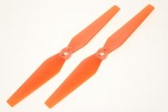 HQ Propeller Direkt Drive carbonfaser verstärkt orange 6x3,5 2 Stück cw mit Aufnahme für T-Motors