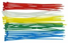 Kabelbinder in mehreren Farben 2,5x150mm 50Stück