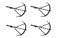 Revell Ersatzteil Propellerschutz Set für Revell Control Quadrocopter Formula Q
