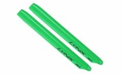 Lynx Hauptrotorblätter grün für Blade 300X,300CFX, OXY3 275mm