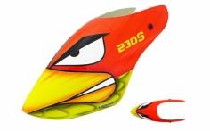 Lionheli Fiberglass Haube Angry Bird für Blade 230 s und 230 S V2