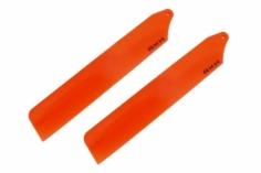 Rakonheli Hauptrotorblätter in orange 89mm für den Blade Nano CPs