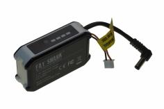 Fatshark LiPo Akku 2S 1800mAh mit LED Anzeige und mit USB Ladeport für Dominator Videobrille