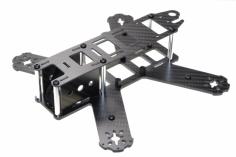 210er FPV Racer Black X Hauptrahmen aus Carbon