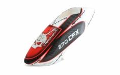 Fusuno Masky Airbrush fiberglas Haube für Blade 270CFX