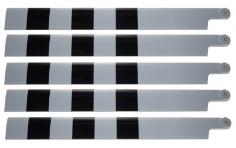 HeliTec der Blattschmied Scale Hauptrotorblätter 5Blatt 600mm für 600er Helis