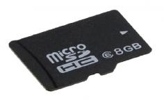 Speicherkarte Micro SD mit 8GB