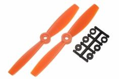 HQ Propeller Bullnose Glasfaser verstärkt orange 5,5x4,5 2 Stück ccw