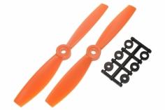 HQ Propeller Bullnose Glasfaser verstärkt orange 5,5x4,5 2 Stück cw