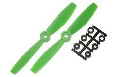 HQ Propeller Bullnose Glasfaser verstärkt grün 5,5x4,5 2 Stück ccw
