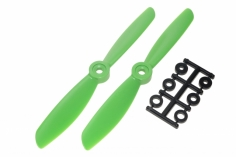 HQ Propeller Direkt Drive Glasfaser verstärkt grün 5,5x4,5 2 Stück cw