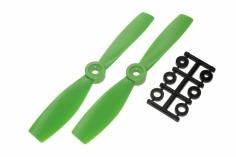 HQ Propeller Bullnose Glasfaser verstärkt grün 5x4,6 2 Stück cw