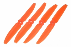 Lynx Propeller Set für FPV Racer 5x3,5 5035 je 2x CW&CCW in orange