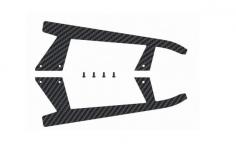 OXY Ersatzteil Langegestell Ersatzkufen Carbon für OXY3 Tareq Edition