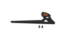 OXY Ersatzteil Heckfinne in schwarz/orange für OXY3 Tareq Edition