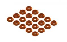 OXY Ersatzteil Unterlegscheiben M2 in orange für OXY3 Tareq Edition