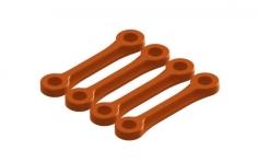 OXY Ersatzteil Chasis Heckrohrverstärkung in orange für OXY3 Tareq Edition
