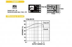 Matek Micro BEC 2-5S, 1,5 Ampere Ausgang mit 5 oder 12 Volt