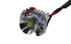 Unilight Strahler extrakurz 12 mm 4W in weiss als Scheinwerfer für 450er