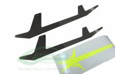 Landegestell Ersatzkufen aus carbon für den Goblin 500 Sport
