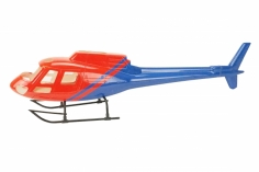 500er Scale Rumpf AS 350 News Version