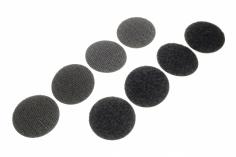 Klettkreise Fastech selbstklebend 4 Sets rund Ø 35mm