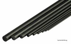 CFK-Rundstab  Ø1,0mm x 1m