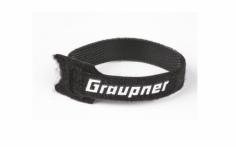 Graupner Klett-Kabelbinder in schwarz 200mm 10 Stück
