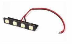 FPV Racer Scheinwerferlichtbalken auf Montagewinkel mit weißen LED´s für 3S