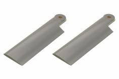 HeliTec der Blattschmied Scale Heckrotorblätter 2Blatt in licht grau 75mm