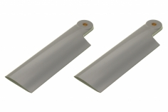 HeliTec der Blattschmied Scale Heckrotorblätter 2Blatt in licht grau 80mm