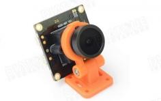 Diatone FPV Kamera 700TVL 120° mini FPV Cam mit oranger schwenkbarer Halterung