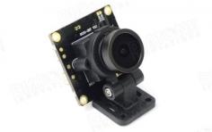 Diatone FPV Kamera 700TVL 120° mini FPV Cam mit schwarzer schwenkbarer Halterung