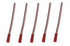 BEC Stecker mit Kabel 10cm 5er Packung