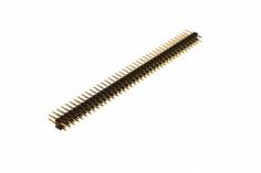 Stiftleiste gerade 2,54mm, 40 Pins, 2 reihig