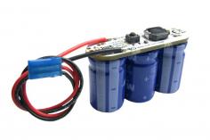 1st Buffer 3x25F V4,8 mit 0,5mm² JR Kabel für 450er bis 700er Helis
