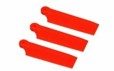 OXY Ersatzteil Heckrotorblätter orange 50mm für das 3 Blattheck für den OXY 3